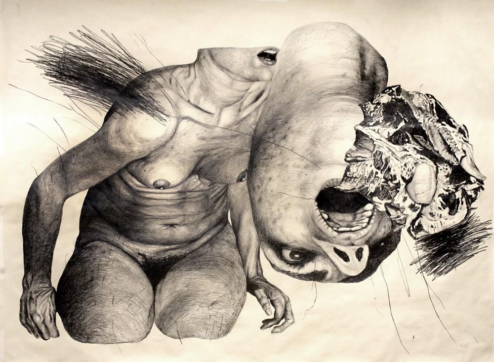 dellamiacarne_2,70x2m_2014_grafitesucarta