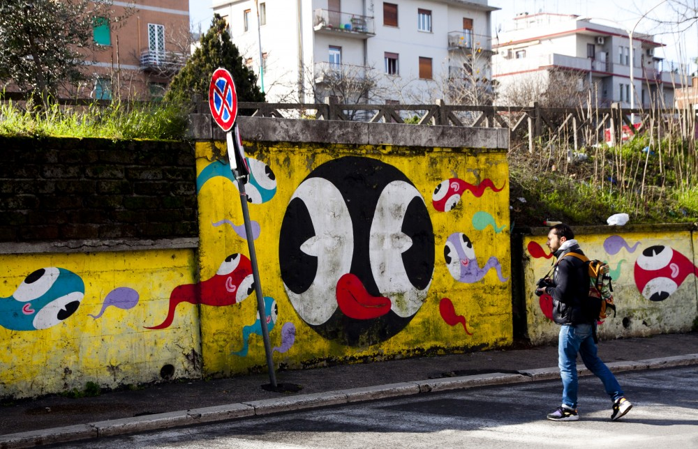 MURO Museo di Urban Art di Roma 2