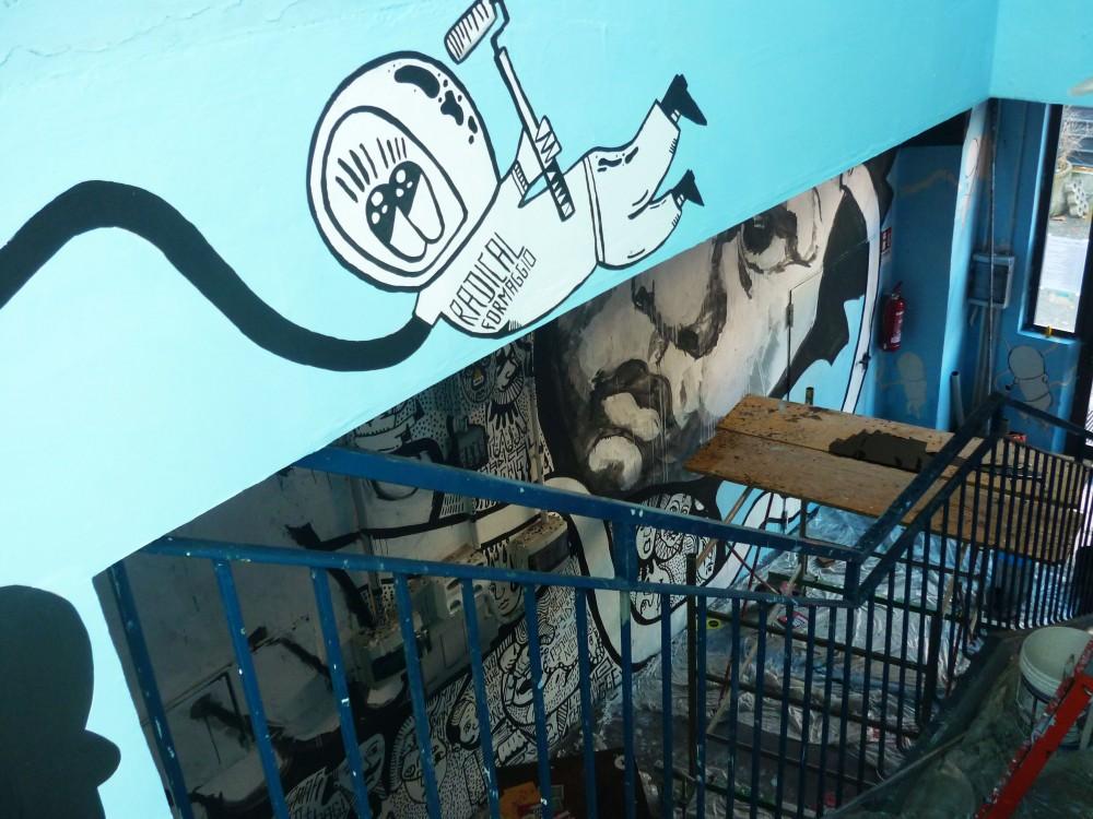 Collettivo FX + Astro Naut + Urban Lives @ SAMO Torino 7