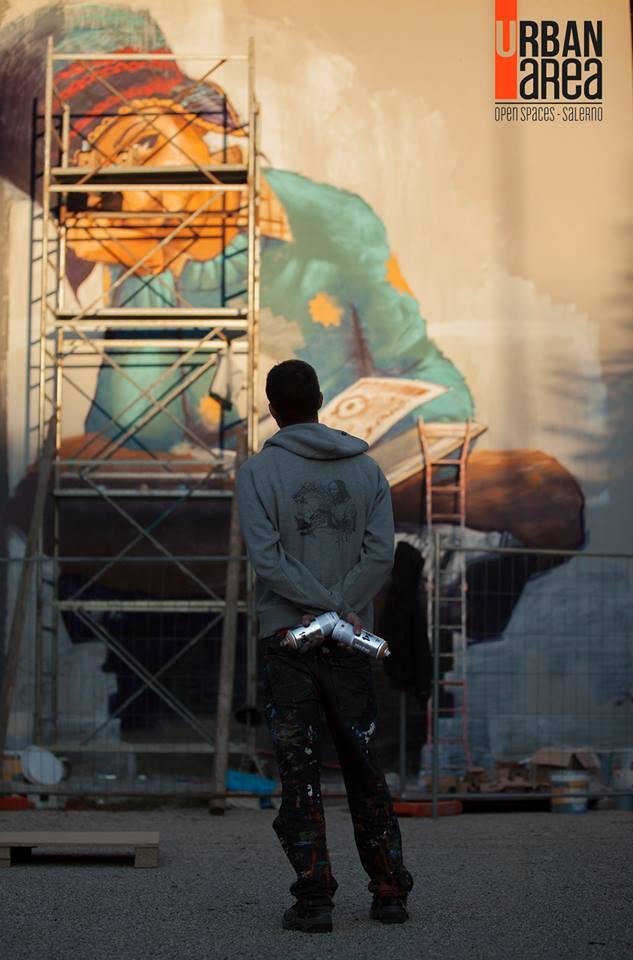 serie 1 - El Nino De Las Pinturas work in progress - foto di Chiara Paraggio
