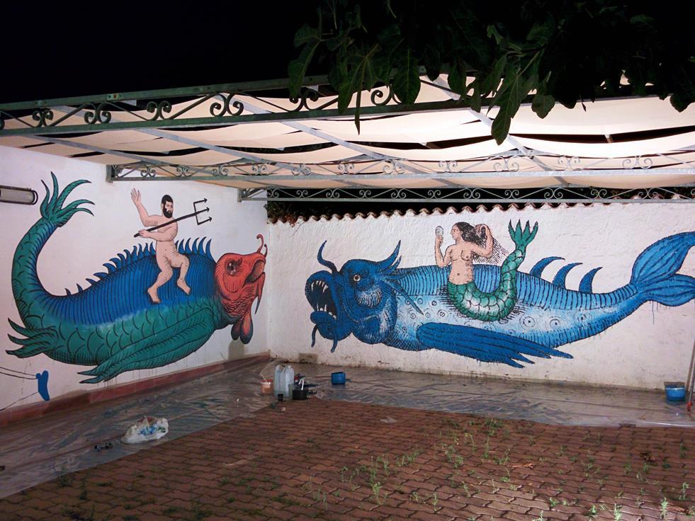 Poseidon and the Siren