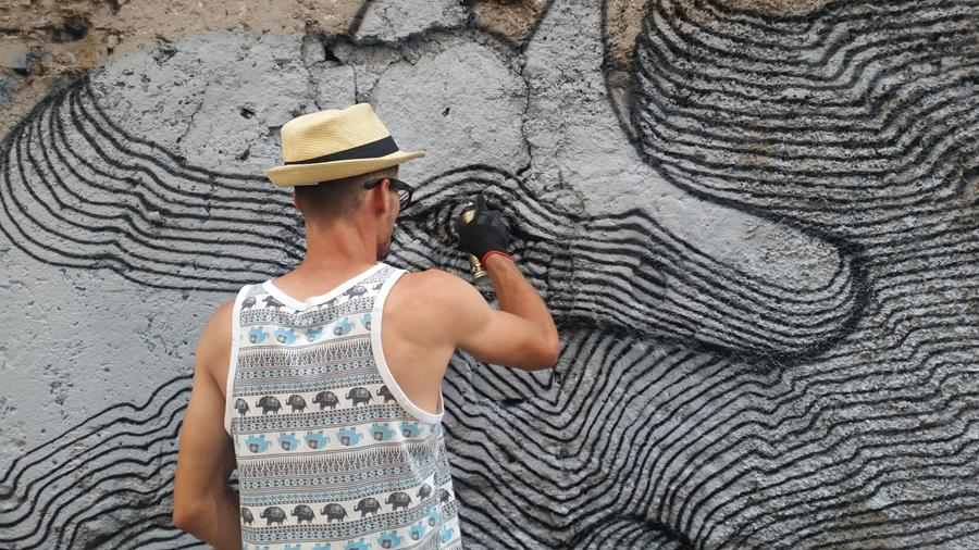 Figura 4.58 - Skirl a San Lorenzo, Roma - Foto di Ivana De Innocentis