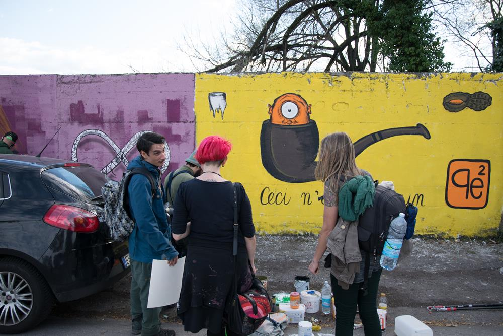 Pepecoimermuda, Nikka & co, Jam di Primavera, Reggio Emilia. Foto di Andrea Gianfanti (Diaphrame)