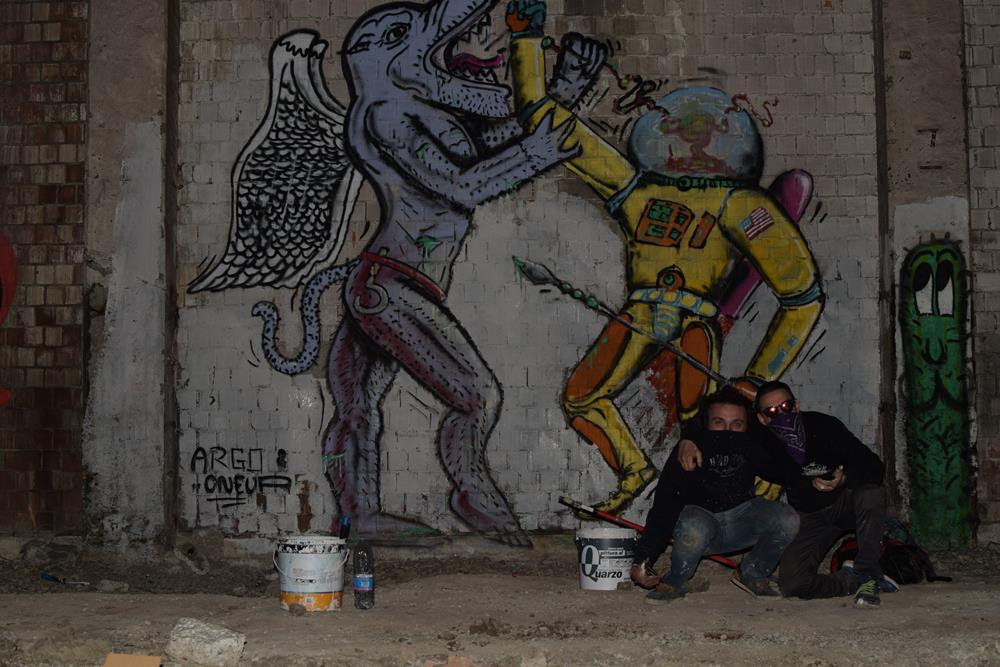 1UP + Argo - Foto di Andrea Gianfanti (Diaphrame)