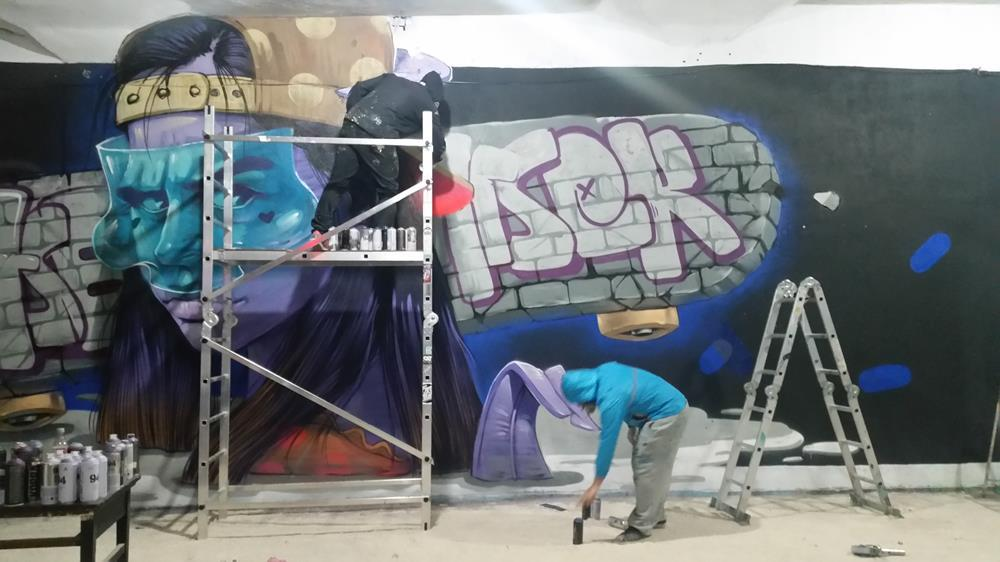 Aersek & Esare per SAT Gallery Festival