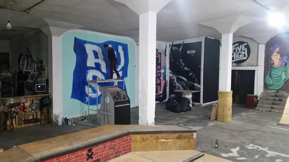 Rust per SAT Gallery Festival