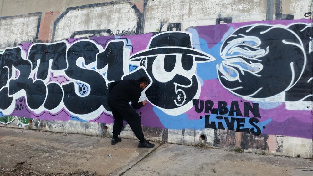 GRTS graffiti Sofia