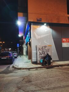 aner beiff artis graffiti bombing atene